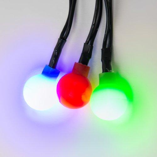 ULD-S0280-020-DGA MULTI IP20 COLORBALLS Гирлянда светодиодная с контроллером Разноцветные шарики. 20 светодиодов. длина 2.8 м. цвет свечения разноцветный. IP20. провод зеленый. упаковка- картон.