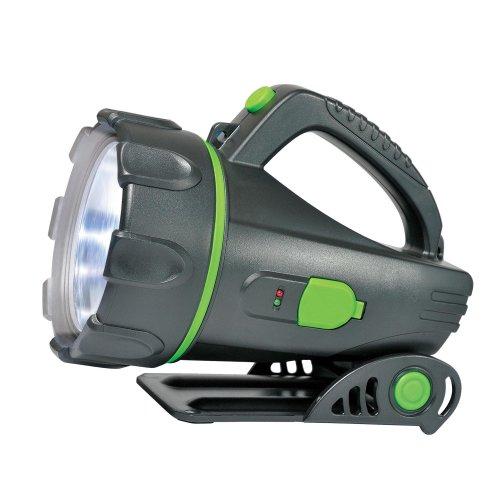 S-SL011-BA Black Фонарь Uniel серии Стандарт Professional spotlight 3 max . пластиковый корпус. 3 Watt LED. упаковка цветной короб. 3.6V 1200mA Ni-MH battery в-к. цвет черный
