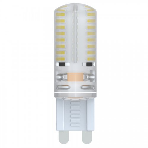 LED-JCD-2.5W-NW-G9-CL-S Лампа светодиодная JCD Volpe с силиконовым покрытием. Цвет свечения белый. Серия Simple. Упаковка картон