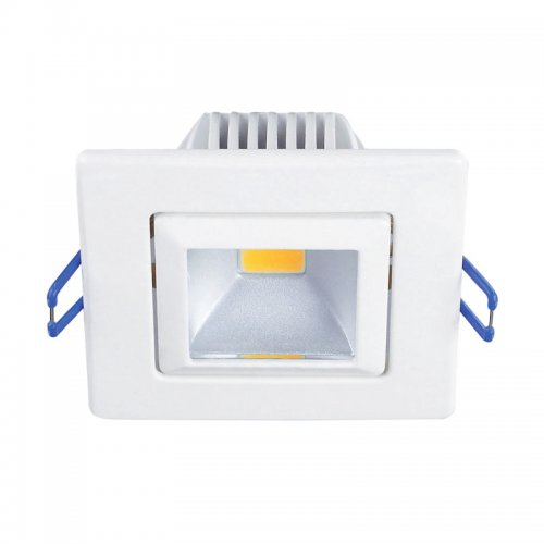 ULМ-S61A-5W-NW WHITE Светильник светодиодный встроенный потолочный. Мощность 5 Вт. Световой поток 280 Лм. Цвет свечения белый. Степень защиты IP20. Диаметр -3.Цвет корпуса белый.