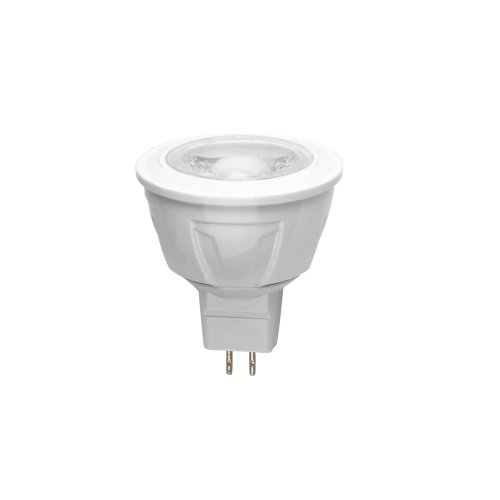 LED-JCDR-5W-WW-GU5.3-S Лампа светодиодная Volpe. Форма JCDR. матовый рассеиватель. Материал корпуса термопластик. Цвет свечения теплый белый. Серия Simple. Упаковка картон