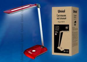 TLD-511-6W-Светильник настольный LED-550Lm-4500K-Цвет-красный