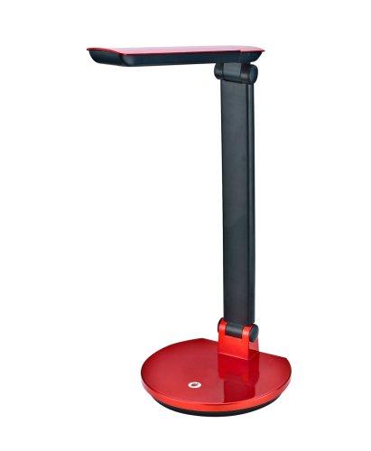 TLD-512-6W-Светильник настольный LED-550Lm-4500K-С диммером-Цвет-красный
