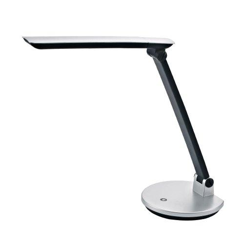 TLD-512-6W-Светильник настольный LED-550Lm-4500K-С диммером-Цвет-серебристый
