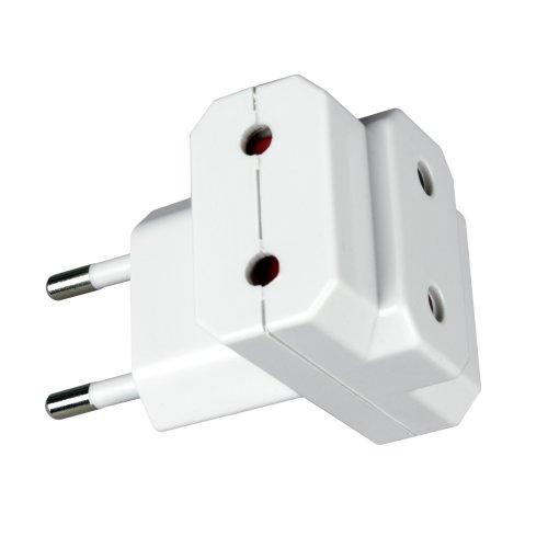 S-ES3-10T Разветвитель сетевой Uniel. количество розеток – 3. Максимальный ток 10А. Максимальная мощность нагрузки – 2200Ватт. без заземления. упаковка – пакет