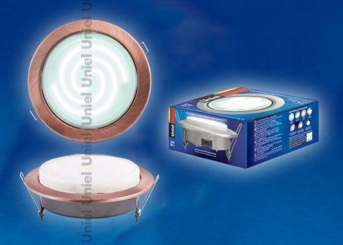 GX70-Н5 Античная медь Светильник ультратонкий встраиваемый