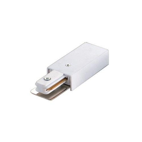UBX-Q121 K01 WHITE 1 POLYBAG Ввод питания для шинопровода. Однофазный. Цвет белый. Упаковка полиэтиленовый пакет.