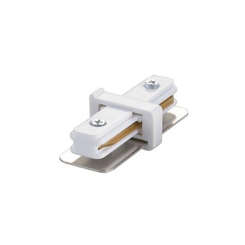UBX-Q121 K11 WHITE 1 POLYBAG Соединитель для 2-х шинопроводов прямой внутренний. Однофазный. Цвет белый. Упаковка полиэтиленовый пакет.