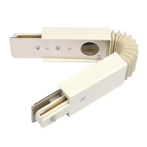 UBX-Q121 K24 WHITE 1 POLYBAG Соединитель для 2-х шинопроводов. Гибкий.Однофазный. Цвет белый. Упаковка полиэтиленовый пакет.