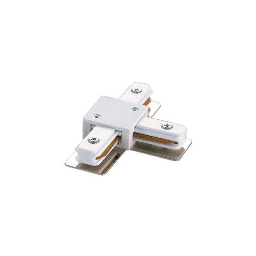 UBX-Q121 K31 WHITE 1 POLYBAG Соединитель для шинопроводов Т-образный. Однофазный. Цвет белый. Упаковка полиэтиленовый пакет.