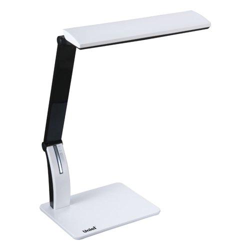 TLD-503 White-Светильник настольный LED-546Lm-5000K-USB порт-С димером-Цвет-белый