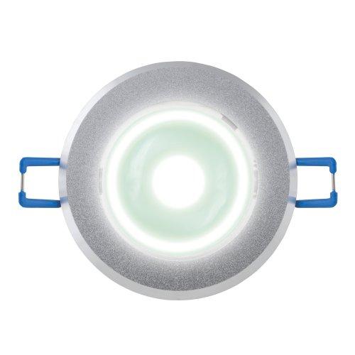 ULM-R31-5W-NW IP20 Sand Silver картон Светильник светодиодный встраиваемый поворотный. 110-240В. Материал корпуса алюминий. цвет матовое серебро. Белый свет.