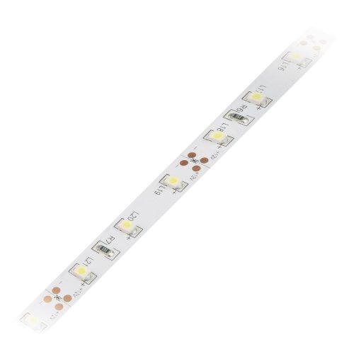 ULS-Q121 3528-60LED-m-8mm-IP20-DC12V-4.8W-m-5M-WW Гибкая светодиодная лента на самоклеящейся основе. Катушка 5 м. в герметичной упаковке. Теплый белый свет. ТМ Volpe.
