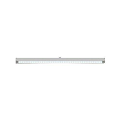 ULM-F02-2W-NW-OS IP20 SILVER SET1 картон Светодиодный светильник с датчиком открывания двери. Длина 27.5 см. Материал корпуса алюминий. цвет серебро. Белый свет. В комплекте с переходником и блоком питания.
