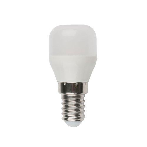 LED-Y27-3W-WW-E14-FR-Z  Лампа светодиодная для холодильников. TM Volpe. Матовая колба. Материал корпуса пластик. Цвет свечения теплый белый. Упаковка картон.