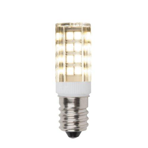 LED-Y16-4W-WW-E14-CL PLZ04WH Лампа светодиодная для холодильников и швейных машин. Прозрачная колба. Цвет свечения теплый белый. Упаковка картон.
