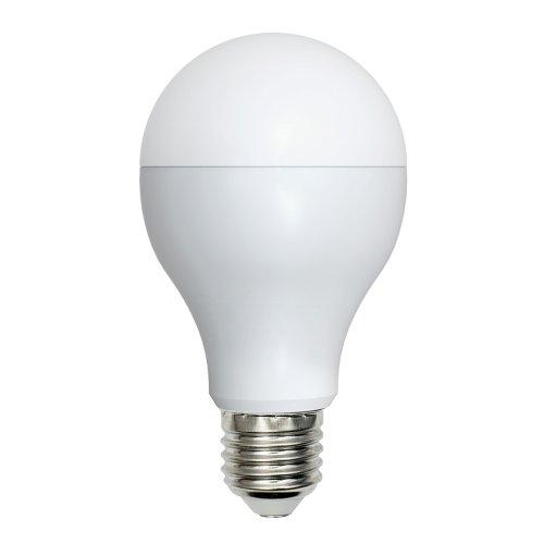 LED-A65-15W-NW-E27-FR-O Лампа светодиодная. Форма A. матовая колба. Материал корпуса пластик. Цвет свечения белый. Серия Optima. Упаковка картон. ТМ Volpe