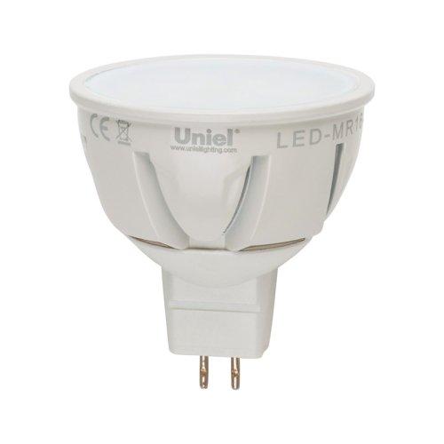 LED-JCDR-7W-WW-GU5.3-FR ALP01WH Лампа светодиодная. Материал корпуса алюминий. Цвет свечения теплый белый. Серия Palazzo. Упаковка пластик