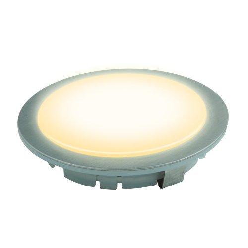 ULE-R05-1W-WW IP33 SILVER картон Светильник светодиодный встраиваемый. Ток 350мА. Материал корпуса нержавеющая сталь. цвет корпуса серебро. Цвет свечения теплый белый. Упаковка картонная коробка.