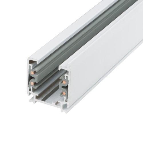 UBX-AS4 WHITE 100 POLYBAG Шинопровод осветительный. тип А. Трехфазный. Цвет белый. Длина 1 м. Упаковка полиэтиленовый пакет.