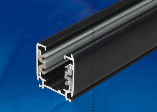 UBX-AS4 BLACK 300 POLYBAG Шинопровод осветительный. тип А. Трехфазный. Цвет черный. Длина 3 м. Упаковка полиэтиленовый пакет.