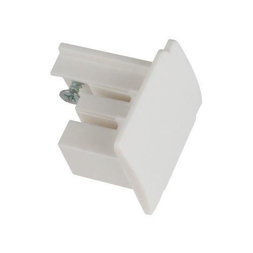 UFB-C41 WHITE 1 POLYBAG Заглушка торцевая для шинопровода. Цвет белый. Упаковка полиэтиленовый пакет.