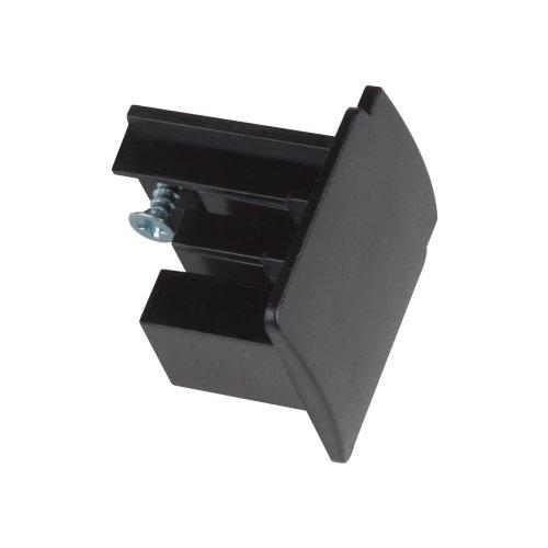 UFB-C41 BLACK 1 POLYBAG Заглушка торцевая для шинопровода. Цвет черный. Упаковка полиэтиленовый пакет.