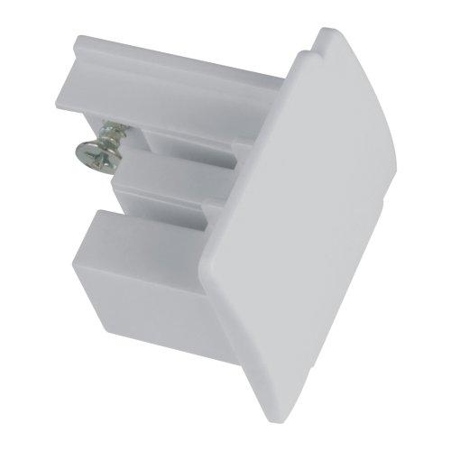UFB-C41 SILVER 1 POLYBAG Заглушка торцевая для шинопровода. Цвет серебряный. Упаковка полиэтиленовый пакет.