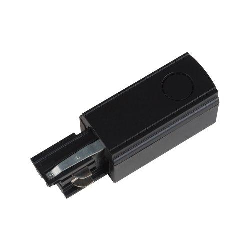 UBX-A02 BLACK 1 POLYBAG Ввод питания для шинопровода. Трехфазный. Левый. Цвет черный. Упаковка полиэтиленовый пакет.