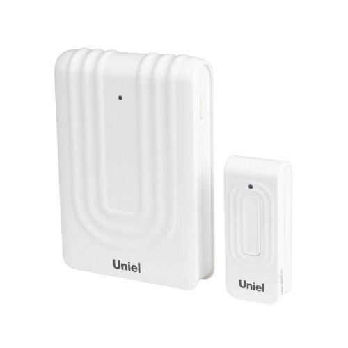 UDB-010W-R1T1-32S-150M-WH Звонок беспроводной. Блистерная упаковка. Цвет-белый