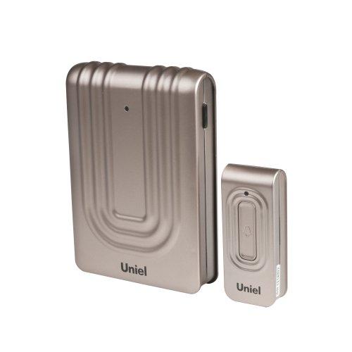 UDB-010W-R1T1-32S-150M-CH Звонок беспроводной. Блистерная упаковка. Цвет-шоколадный