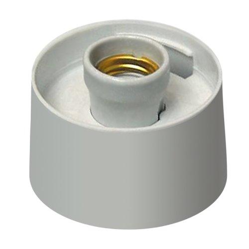 UFP-А01AE WHITE Основание для садово-парковых светильников. Тип соединения с рассеивателем резьбовой. Встроенный патрон Е27. Материал пластик. Цвет белый. Упаковка картон.