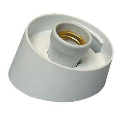 UFP-A04AE WHITE Основание для садово-парковых светильников. Тип соединения с рассеивателем резьбовой. Встроенный патрон Е27. Материал пластик. Цвет белый. Упаковка картон.