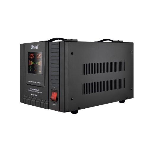 RS-1-1000 Стабилизатор Uniel релейный однофазный. 1.0 кВА.