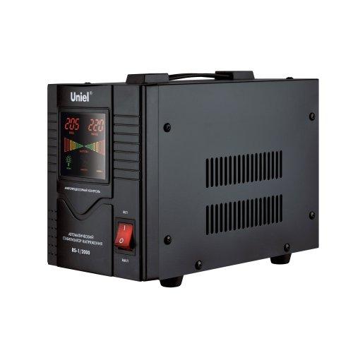 RS-1-2000 Стабилизатор Uniel релейный однофазный. 2.0 кВА.