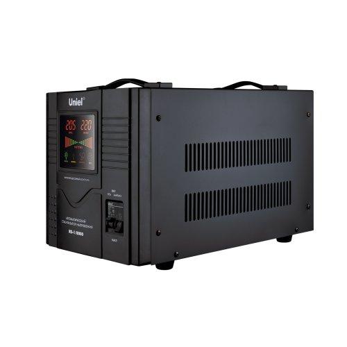 RS-1-8000 Стабилизатор Uniel релейный однофазный. 8.0 кВА.