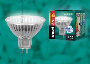 JCDR-X35-4000-GU5.3 Лампа галогенная супер-белая Картонная упаковка