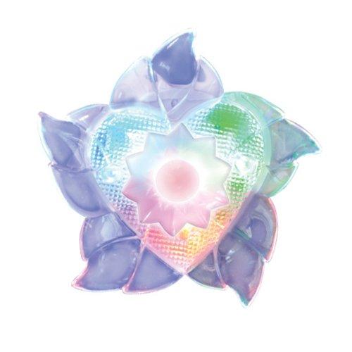 DTL-302-Цветок-Pearl-4LED-0.5W Светильник-ночник. Блистерная упаковка