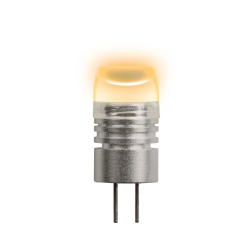 LED-JC-12-0.8W-YELLOW-G4 Лампа светодиодная. Упаковка блистер
