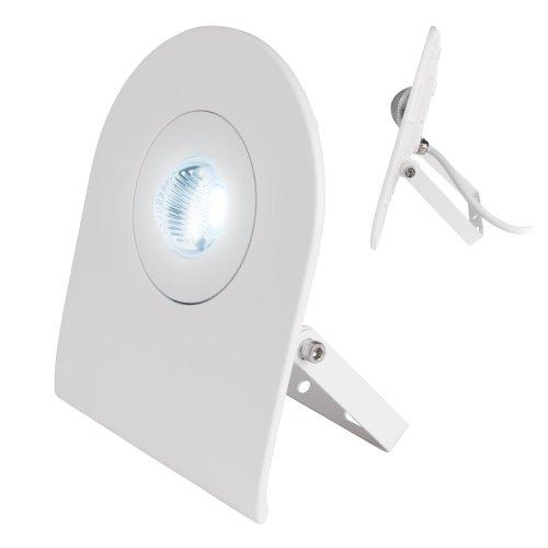 ULF-F10-30W-NW IP65 180-240В WHITE Прожектор светодиодный. Корпус белый. Белый свет. Упаковка картон. TM Uniel.