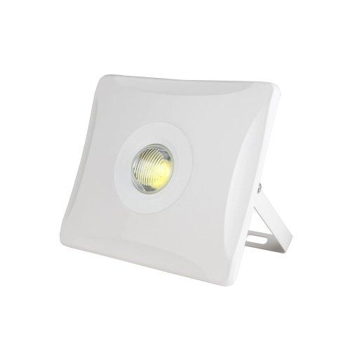 ULF-F11-30W-NW IP65 180-240В WHITE Прожектор светодиодный. Корпус белый. Белый свет. Упаковка картон. TM Uniel.