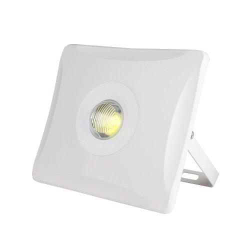 ULF-F11-50W-NW IP65 180-240В WHITE Прожектор светодиодный. Корпус белый. Белый свет. Упаковка картон. TM Uniel.