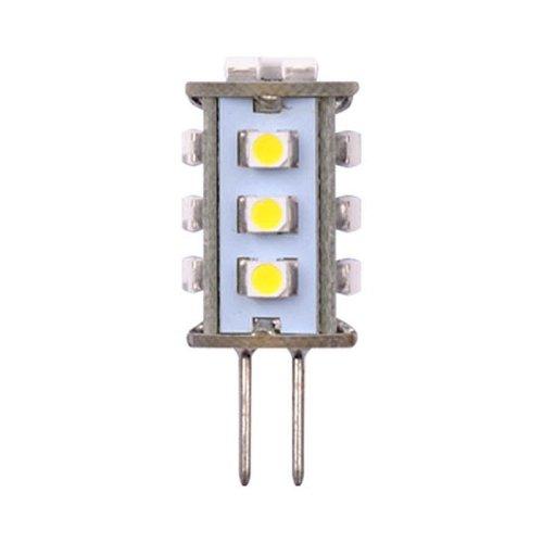 LED-JC-12-0.9W-WW-G4 60lm Corn Лампа светодиодная. Упаковка блистер