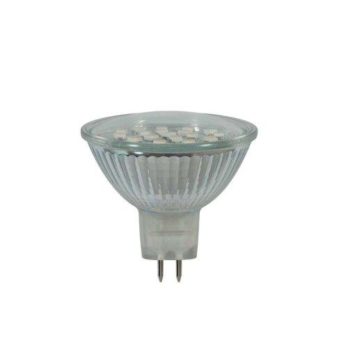 LED-MR16-SMD-1.5W-WW-GU5.3 95 lm Светодиодная лампа. Картонная упаковка.