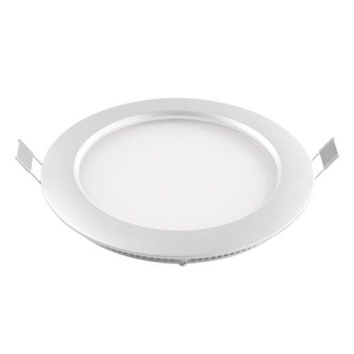 ULP-R180-10-NW WHITE Светильник светодиодный потолочный встраиваемый Uniel. Ультратонкий. Диаметр 180x16mm. Цвет корпуса белый. Цвет свечения белый. В комплекте с адаптером. Упаковка коробка.
