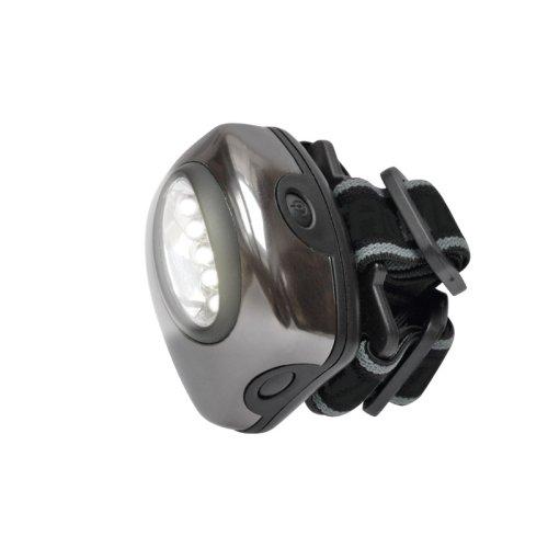 S-HL010-C Gun Metal Фонарь Uniel серии Стандарт Bright eyes comfort max налобный фонарь. алюминиевый корпус. 5 LED. упаковка кламшелл. 3хААА н-к