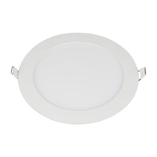 ULM-Q236 18W-4000K WHITE Светильник светодиодный встраиваемый.  Белый свет 4000К. Корпус белый. ТМ Volpe.