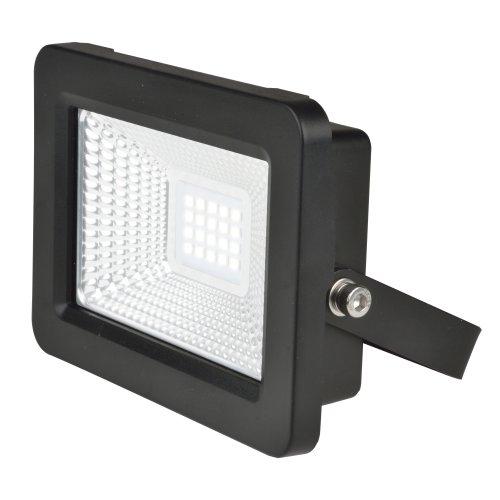 ULF-F19-20W-4000K IP65 175-250В BLACK Прожектор светодиодный. Белый свет 4000K. Корпус черный. TM Uniel.