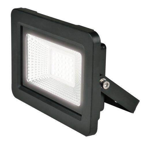 ULF-F19-30W-4000K IP65 175-250В BLACK Прожектор светодиодный. Белый свет 4000K. Корпус черный. TM Uniel.