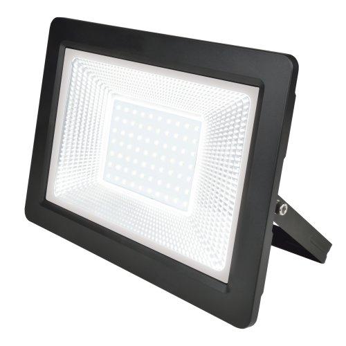 ULF-F19-100W-4000K IP65 175-250В BLACK Прожектор светодиодный. Белый свет 4000K. Корпус черный. TM Uniel.